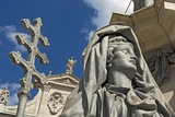 Statue at Domplatz Cathedral, Close Up Photographic Print by  Design Pics Inc