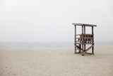 New England, Massachusetts, Cape Cod, Abandoned Lifeguard Station on Beach Photographic Print by  Design Pics Inc