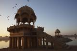 Dawn at Gadisar Lake Jaisalmer Rajasthan India Andy Kerry Photographic Print by  Design Pics Inc