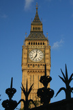 Big Ben and Iron Fence, Close Up Photographic Print by  Design Pics Inc