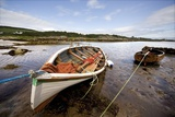 Ardminish, Isle of Gigha, Scotland; Rowboats Tied to Shore Photographic Print by  Design Pics Inc