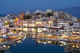 Lake Vouismeni; Agios Nikolaos, Crete, Greece Photographic Print by  Design Pics Inc