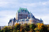 Chateau Frontenac Reproduction photographique par  Design Pics Inc