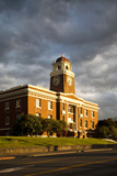 Sunlight Shines on a Courthouse in Port Angeles Photographic Print by Michael Hanson