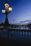 Looking from the Pont Alexandre Iii Down the Seine to the Eiffel Tower Photographic Print by  Design Pics Inc