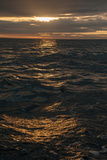 Sunset Above the Waters Off Isabela Island in the Galapagos Photographic Print by Karen Kasmauski