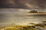 Bamburgh Castle under a Cloudy Sky; Bamburgh Northumberland England Photographic Print by  Design Pics Inc