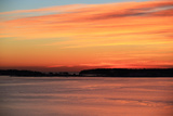 The Sun Rises over the Calendar Islands in Maine's Casco Bay Photographic Print by Robbie George