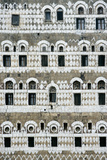 Exterior of Ornate Mud House, Close Up Photographic Print by  Design Pics Inc