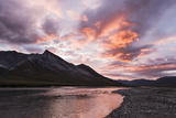 The Noatak River at Sunset, Brooks Range, Arctic Alaska, Summer Photographic Print by  Design Pics Inc
