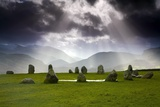 Castlerigg Stone Circle; Kendal, Cumbria, England Reproduction photographique par  Design Pics Inc