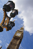 Big Ben and Lamp Post, Close Up Photographic Print by  Design Pics Inc