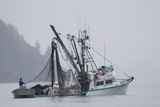 Commercial Seiner *Malamute Kid* Hauling Photographic Print by  Design Pics Inc