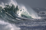 Hawaii, Big Powerful Wave Break Photographic Print by  Design Pics Inc