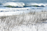 Winter Waves Crash Along the Snowy Coast of Maine Photographic Print by Robbie George