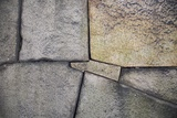 A Detail of the Stone Wall at Osaka Castle Photographic Print by Macduff Everton