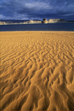 Desolate Wind-Blown Sand and Beach of Lake Powell at Page, Arizona Photographic Print by Keith Ladzinski