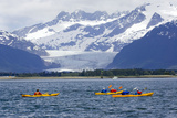 Sea Kayakers Photographic Print by  Design Pics Inc