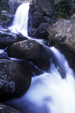 A Waterfall in Rocky Mountain National Park, Colorado Photographic Print by Keith Ladzinski