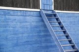 Narrow Steps Lead Up to a Door at the Sisimiut Museum Photographic Print by Michael Melford