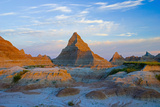A Red Sunrise Illuminates the Hills Photographic Print by  Design Pics Inc