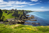 Dunluce Castle on the North Coast of Northern Ireland Photographic Print by Chris Hill