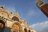 St. Marks's Basilica and Campanile Off Piazza San Marco or St. Mark's Square; Venice Veneto Italy Photographic Print by  Design Pics Inc