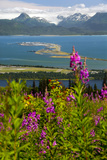 Scenic View Overlooking the Homer Spit Photographic Print by  Design Pics Inc
