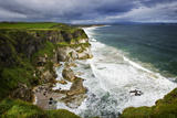 Churning Surf at White Rocks at Portrush on the North Coast of Northern Ireland Photographic Print by Chris Hill