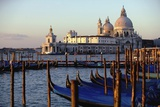 The Chiesa Di Santa Maria Della Salute and Gondolas Photographic Print by  Design Pics Inc