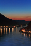Mercury Shines in the Fading Glow of Dusk over the Danube River Photographic Print by Babak Tafreshi