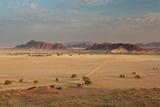 A Beautiful Landscape in Namib-Naukluft National Park, Taken from the Top of Elim Dune Fotografie-Druck von Alex Saberi