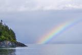 Rainbow over the Ocean Photographic Print by Rich Reid