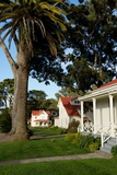 Old Army Housing in the Presidio of San Francisco, a Park and Former Military Base Fotografiskt tryck av Krista Rossow
