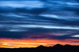 Spectacular Sunset and Stormy Sky Photographic Print by Jim Reed