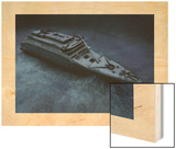 The Stern of the Titanic Lies on the Seafloor Posters by Skaramoosh, Ltd