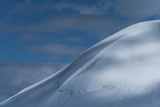 Blue Sky Blends with the Snowy Mountains of Antarctica Photographic Print by Jim Richardson