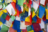 Prayer Flags at Tiger's Nest Monastery Photographic Print by Michael Melford