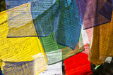 Prayer Flags at the Tiger's Nest Monastery Photographic Print by Michael Melford
