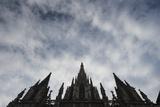 The Spires of the Catedral De Barcelona Fotografisk trykk av Michael Melford