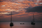 Sunset in Saint Pierre Photographic Print by Matt Propert