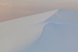 White Dunes at Sunrise in White Sands National Monument Photographic Print by Derek Von Briesen