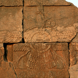 A Relief in Persepolis Depicting Faravahar, the Best-Known Symbol of Zoroastrians Photographic Print by Babak Tafreshi