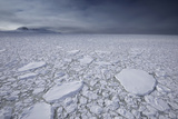 Thick Ice Pack Fills the Grandidier Channel Photographic Print by Jim Richardson
