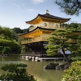 Golden Pavilion, a Buddhist Temple; Kinkaku Ji, Kyoto, Japan Photographic Print by  Design Pics Inc