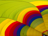 Detail of a Deflated Hot Air Balloon at the White Sands Invitational Balloon Festival Photographic Print by Derek Von Briesen