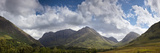 A Mountainous Landscape under Clouds; Glencoe, Argyll, Scotland Photographic Print by  Design Pics Inc