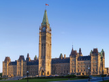 Parliament Buildings of Canada; Ottawa Ontario Canada Photographic Print by  Design Pics Inc