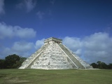 El Castillo Pyramid Photographic Print by  Design Pics Inc