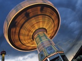 Midway Ride; Calgary, Alberta, Canada Photographic Print by  Design Pics Inc